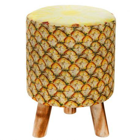 Banchete-Tabureti - Taburet design ananas Fruits 45cm