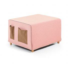 Banchete-Tabureti - Taburet extensibil/ Pat KOS roz
