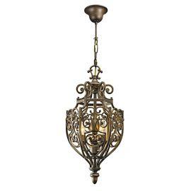 Pendule, Lustre suspendate - Lustra metal forjat design Vintage Ireneus I