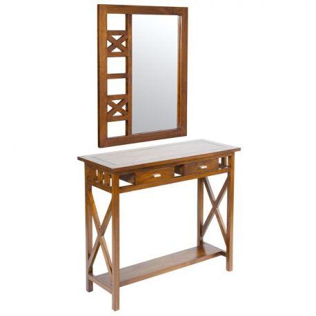 Oglinzi - Set consola cu oglinda Adelia II