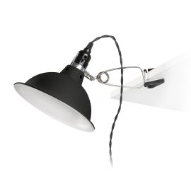 Lampa clips Industrial Style PEPPER negru