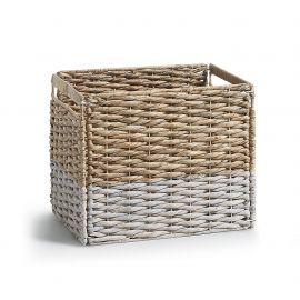 Garderobe - Cos sertar/ spatiu depozitare WOODY alb/ natur