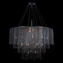 Corpuri de iluminat - Lustra ovala moderna XXL cristal Bohemia