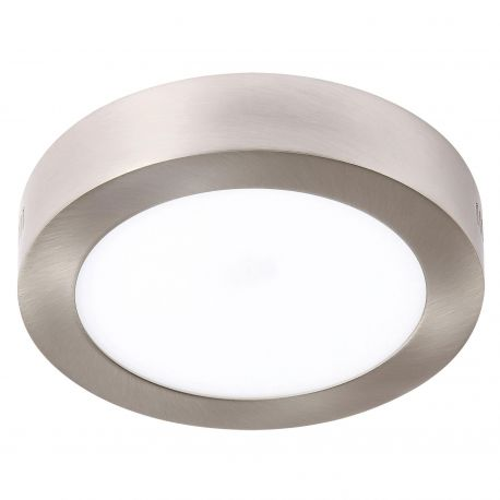 Iluminat pentru baie - Plafoniera LED baie IP44 PLURIEL 18W nickel