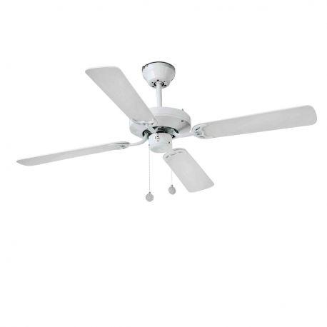 Lustre cu ventilator - Lustra Ventilator de tavan modern YAKARTA alb