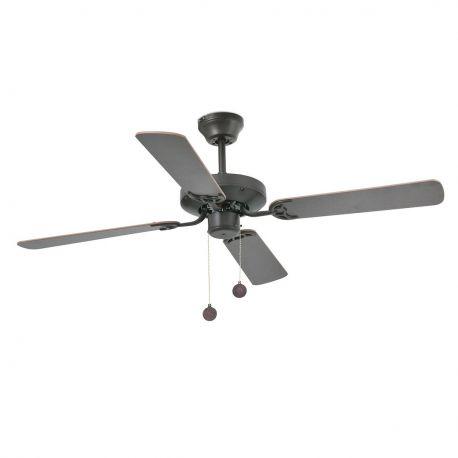Lustre cu ventilator - Lustra Ventilator de tavan modern YAKARTA maro