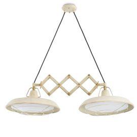 Pendule, Lustre suspendate - Lustra LED extensibila de exterior Industrial Style PLEC I