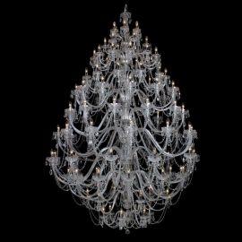 Lustre Cristal Bohemia - Lustra 108 brate cristal Bohemia XXXL