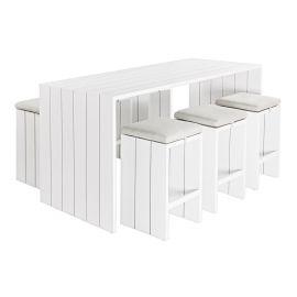 Bar lounge - Set bar cu 6 tabureti ATLANTIC