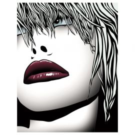 Tablouri - Tablou decorativ Lips 120x100cm