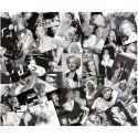 Tablou decorativ MARILYN COLLAGES 100x120