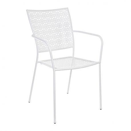 Scaune - Set de 4 scaune JODIE alb