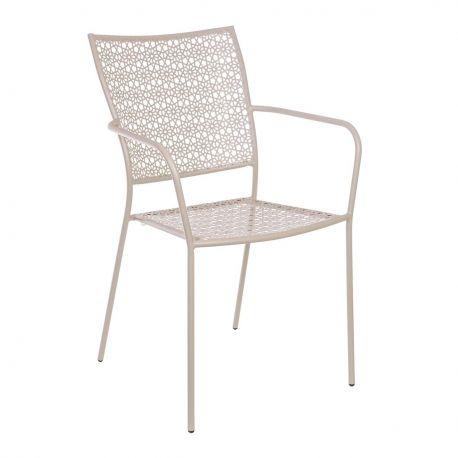 Scaune - Set de 4 scaune JODIE gri taupe