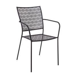 Set de 4 scaune JODIE gri inchis
