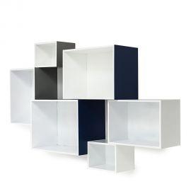 Raft perete din 6 cuburi MOSAIKO