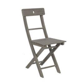 Scaune - Set de 2 scaune BALCONY gri