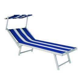 Sezlonguri - Sezlong SEA albastru