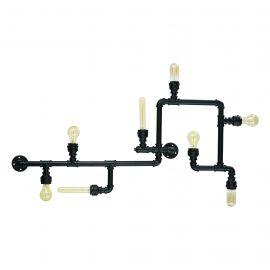 Plafoniere - Plafoniera Industrial Style PLUMBER PL8