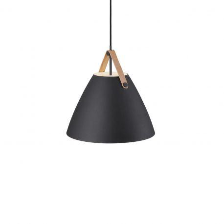 Pendule, Lustre suspendate - Pendul design nordic STRAP 36 negru