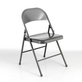 Seturi scaune, HoReCa - Set 4 scaune pliante SEKKA GREY