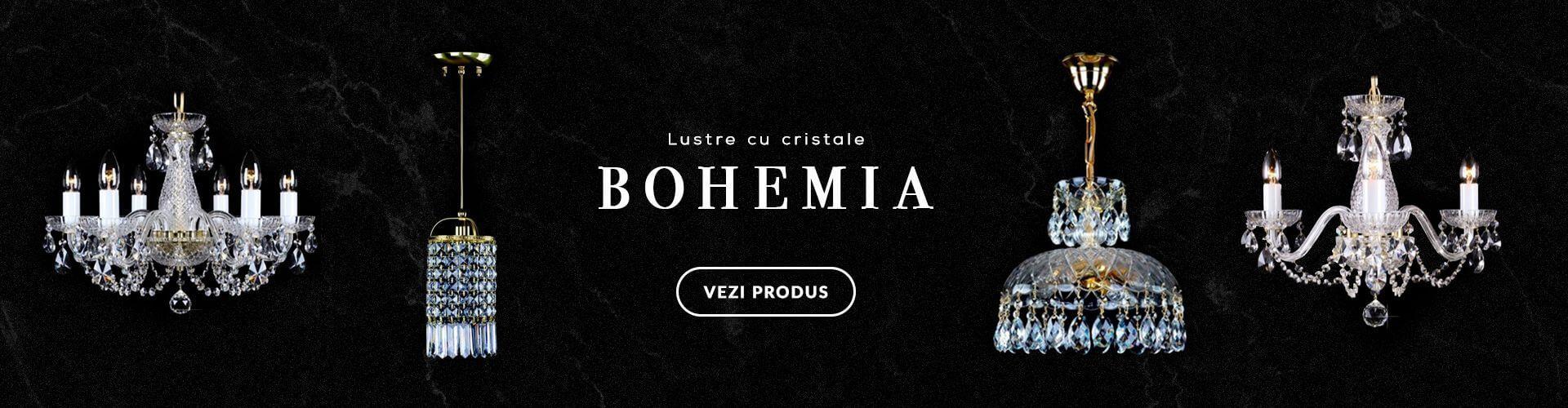 LUSTRE CRISTAL BOHEMIA